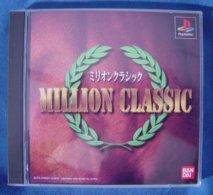 PS1 Japanese : Million Classic SLPS 01609~01610 - Sony PlayStation