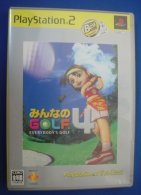 PS2 Japanese : Minna No Golf 4 - Sony PlayStation