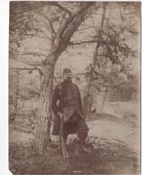 Photo Originale Militaria  Soldat GVC Vernouillet Verneuil 1915 - Guerre, Militaire