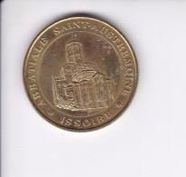 Jeton Médaille Monnaie De Paris MDp Issoire Abbatiale Saint Austremoine Puy De Dome 2007 - Monnaie De Paris