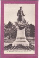 25.-  BESANCON .- Statue Du Général Jeanningros - Besancon