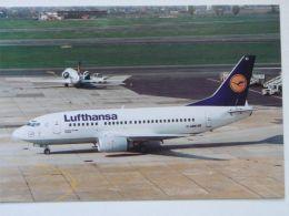 Lufthansa Boeing B-737 Serial Number 24.........  Warsaw 2000 Year - 1946-....: Moderne