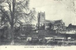 PAS DE CALAIS - 62 - SELECT 16 - 2 - SAINT OMER -  Basilique Notre Dame -  Vue Générale - Saint Omer