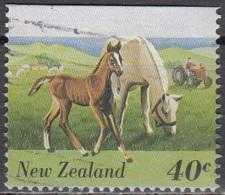 New Zealand 1995 Michel 1457 O Cote (2005) 0.50 Euro Chevaux - Nouvelle-Zélande