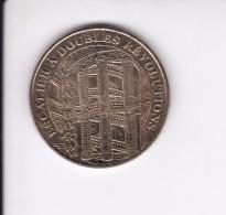Jeton Médaille Monnaie De Paris MDp Chateau De Chambord Escalier à Double Révolution 2007 - Monnaie De Paris