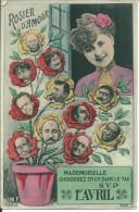 1er Avril Rosier D'amour - April Fool's Day