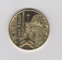 Coin Spain - Token Casa Battló - Gaudí - Barcelona - Monnaie De Paris 2015 - Firma's