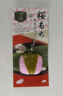 "Decorative Strap "" Sakuramochi "" - Charms"