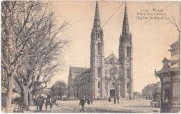 30. NIMES. Place Des Carmes (Eglise St-Baudile). 1179 - Nîmes