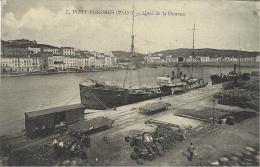2- PORT-VENDRES -Quai De La Douane - Guionie Et Cie - Port Vendres