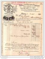 34 823 CETTE SETE HERAULT ( EYGUN ? )  1890 Vins Pharmacie PAUL MAURIN Succ EMILE CORNIER Malaga Muscat Frontignan - France