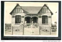 85  ST  JEAN  De  MONTS   .....CARTE PHOTO .... Villas Des Familles TISSON Et AUBIN - Saint Jean De Monts
