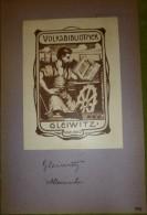 Ex-libris Début XX - Allemagne - GLEIWITZ - Ex-libris