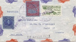 LBL38/3 - VENEZUELA LETTRE AVION DUACA 31 MAI 1939 - Venezuela