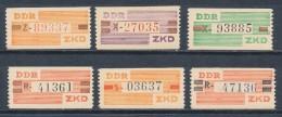 DDR Dienstmarken B V - X ** Mi. 30,- - Dienstpost