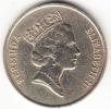 BERMUDAS 1988 1 DOLLAR ELISABETH II Y VELERO  EBC CN 4303 - Bermudes