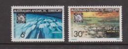 Australian Antarctic Territory 1971 Treaty Ice & Snow Formations Set 2 MNH - Territoire Antarctique Australien (AAT)