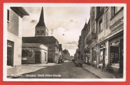 CPSM Allemagne - Gaggenau - Murgtal - Adolf Hitler Strasse - Gaggenau