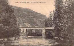 CPA  Molompize Le Pont Sur L'Allagnon  R1016 - Frankreich