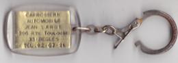 PORTE CLEFS CARROSSERIE AUTOMOBILE LARGE A BEGLES EN GIRONDE 396 RTE TOULOUSE - Porte-clefs
