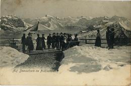 SUISSE AUF STANSERHORN IM FRUHSOMMER 1873 - Switzerland