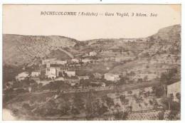 Rochecolombe      Gare Vogûé 1920 - Autres Communes