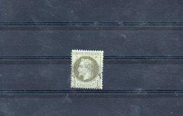 FRANCE 1870 N° 25 OBLITERE - 1863-1870 Napoléon III Lauré