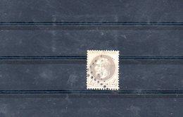 FRANCE 1866 N° 27 B OBLITERE - 1863-1870 Napoléon III Lauré