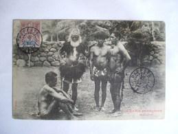 OCEANIE FRANCAISE MARQUISIENS,  Tahiti, Polynésie Francaise, Iles Marquises - Tahiti