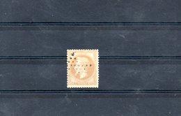 FRANCE 1867 N° 28 A OBLITERE - 1863-1870 Napoléon III Lauré