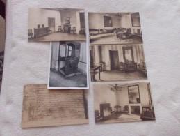 LOT DE 6 CARTES MAISON DE NAPOLEON 1ER A AJACCIO - 5 - 99 Postcards