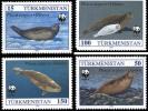 (WWF-150) W.W.F. Turkmenistan MNH Caspian Seal Stamps 1993 - W.W.F.