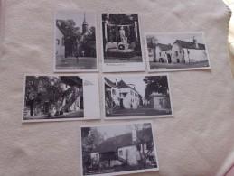 LOT DE 6 CARTES ..BEETHOVEN ...MAISON..EGLISE  ET STATUE - 5 - 99 Cartoline