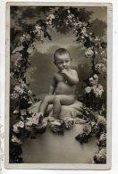 ENFANT . BÉBÉ . GARDES CETTE CARTE , TU AURAS LE PORTRAIT DU PETIT ADRIEN - Réf. N°15139 - - Portraits