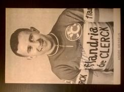 André MESSELIS Flandria De Clerck Autographe Manuscrit - Radsport
