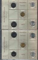 ITALIA REPUBBLICA SERIE DIVISIONALE ZECCA 1972 FDC UNC - 1946-… : Repubblica