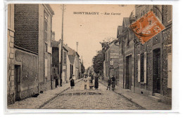 Val D'Oise : Montmagny : Rue Carnot - Frankreich