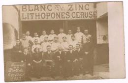 Personnel De La S.A. STELLA 1912, Blanc De Zinc, Lithopones, Céruse Fernand Pisart - Machelen - Trimetal - 3 Scans - Machelen