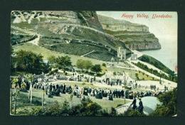 WALES  -  Llandudno  Happy Valley  Used Vintage Postcard As Scans - Denbighshire
