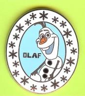 Pin's BD Disney Olaf (La Reine Des Neiges /Frozen) - 3M04 - Disney