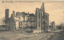 IEPER / YPRES / 1914-18 /  DE RUINES VAN DE IERSE BENEDICTIJNER ABDIJ / IRISH NUNS ABBEY - Ieper