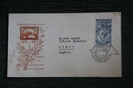 Enveloppe Timbrée, PRAHA - Tchécoslovaquie