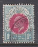 South Africa, Natal, Edward VII, 1902, 1/= Used - Zuid-Afrika (...-1961)