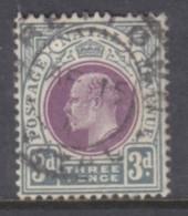 South Africa, Natal, Edward VII, 1902, 3d Used - Afrique Du Sud (...-1961)