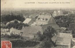 VILLAINES LA JUHEL , Vue Partielle Prise Du Vieux Château - Villaines La Juhel
