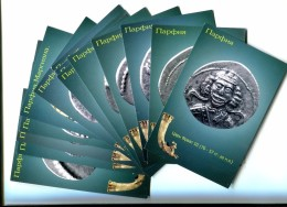 Parthian Kings On Coins Silver Drachma Nissa, Persia ... Set 27 Postcards - Coins (pictures)