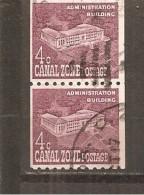 Zona Del Canal - Canal Zone  Nº Yvert  123a-par (usado) (o) - Kanaalzone