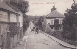 VIMOUTIERS - La Rue De Lisieux - Attelages - Société Générale - Vimoutiers