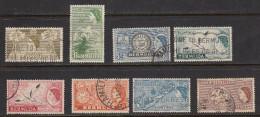 Bermuda 1953-62 Cancelled, Sc# ,SG 135,137,141,143,143a,144-146 - Bermuda