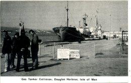IOM - DOUGLAS HARBOUR - GAS TANKER COLLISION - Isle Of Man